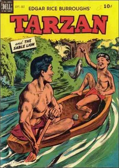Tarzan (1948) 11-A by Dell