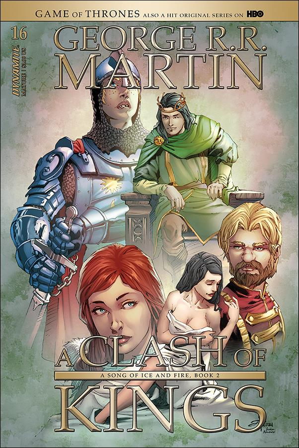George R. R. Martin's A Clash of Kings 16-B by Dynamite Entertainment