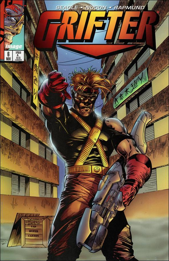 Grifter (1995) 6-A by Image