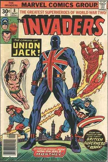 Invaders (1975) 8-A by Marvel