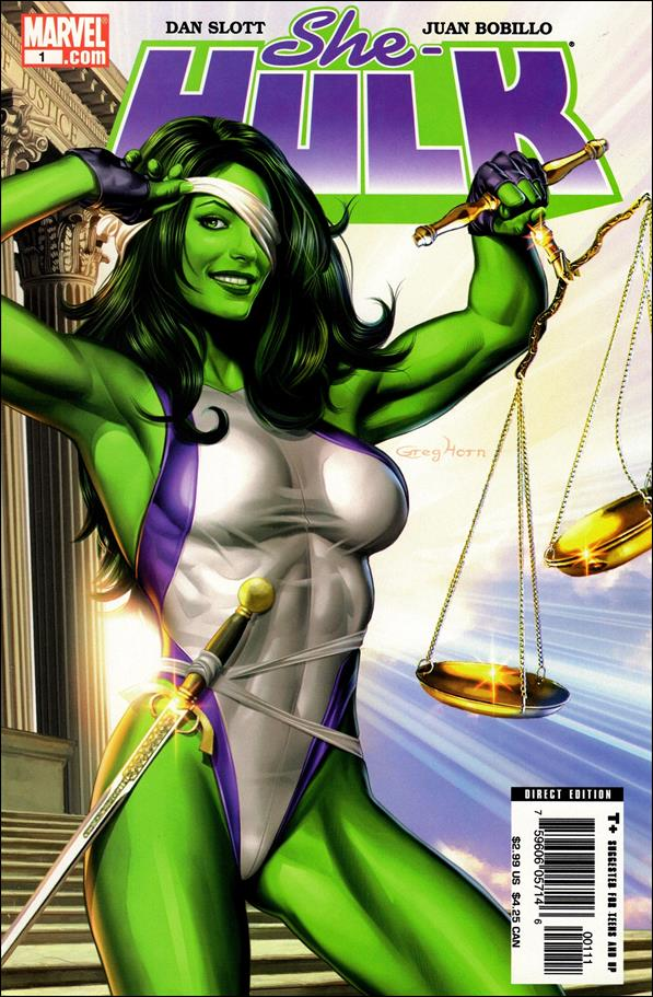She-Hulk (2005) 1-A by Marvel