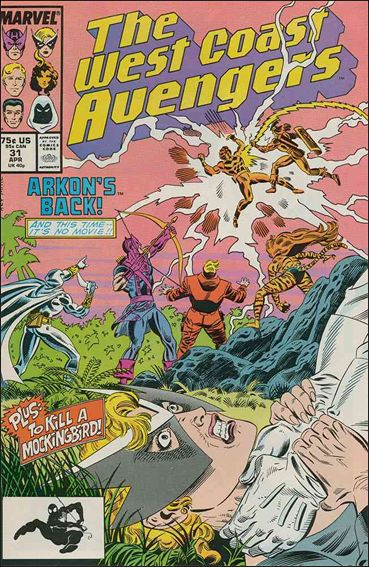 West Coast Avengers (1985) 31-A by Marvel