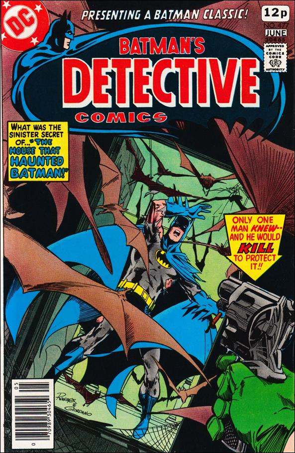 Detective Comics (1937) 477-B by DC
