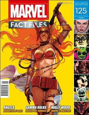 Marvel Fact Files 125-A