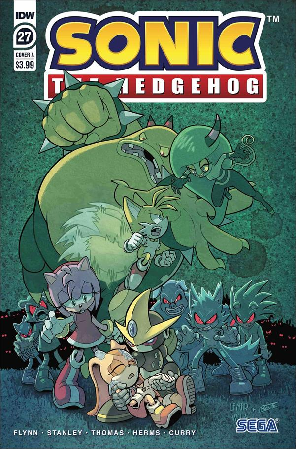 Sonic the Hedgehog (2018) 27-A by IDW