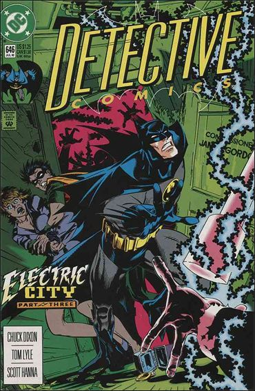 Detective Comics (1937) 646-A by DC