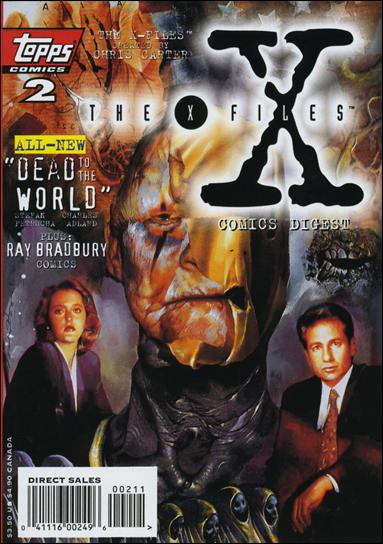 X-Files Comics Digest 2-A by Topps