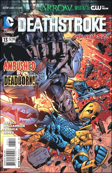 Deathstroke (2011) 13-A by DC