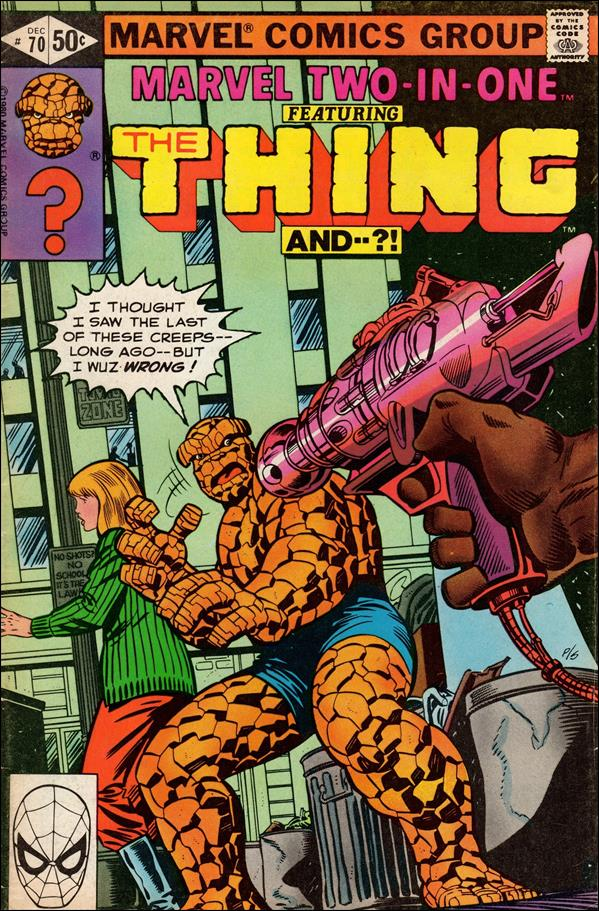 Marvel Two-In-One (1974) 70-A by Marvel