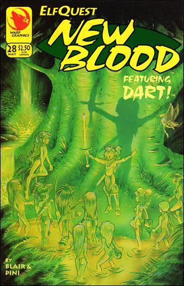 Elfquest: New Blood 28-A by Warp Graphics