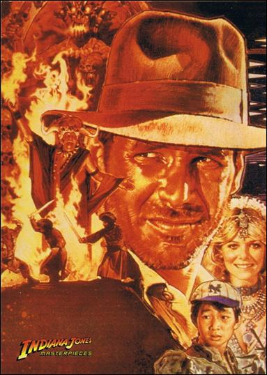 Indiana Jones Masterpieces (Base Set) 59-A by Topps