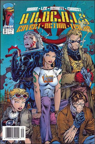 WildC.A.T.s: Covert Action Teams 31-B by Image