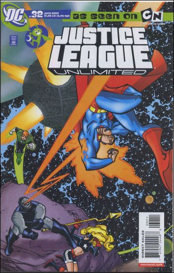 Justice League Unlimited 32-A by DC