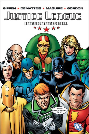 Justice League International 1-A by DC