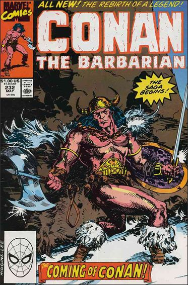 Conan the Barbarian (1970) 232-A by Marvel