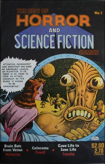 Best of Horror and Science Fiction Comics 1-A by Bruce Webster