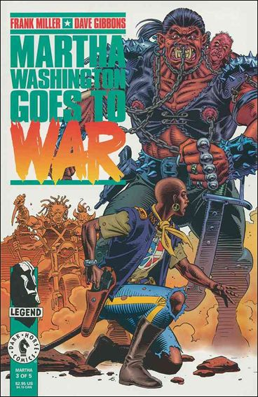 Martha Washington Goes to War 3-A by Dark Horse
