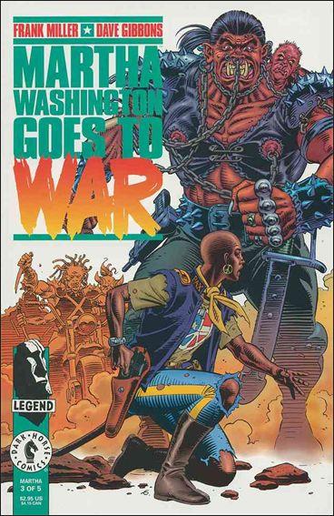 Martha Washington Goes to War 3-A by Dark Horse