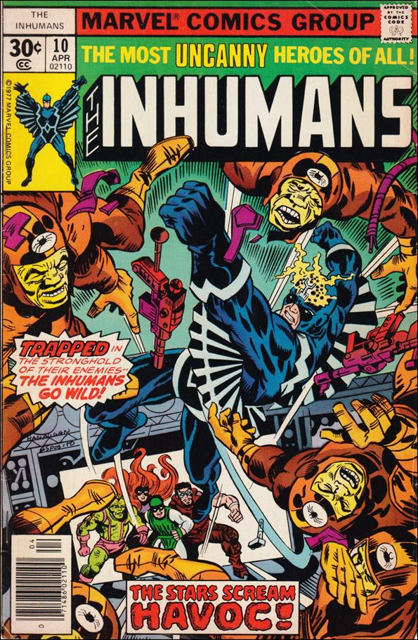 Inhumans (1975) 10-A by Marvel