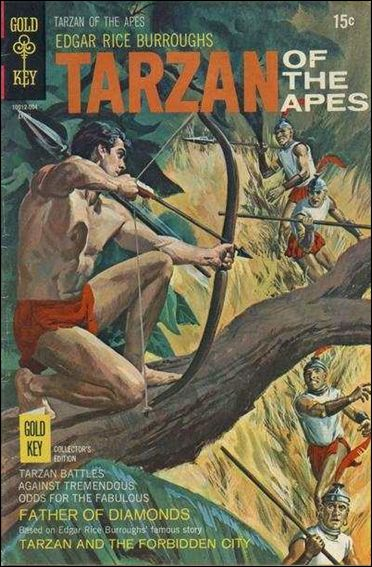 Tarzan (1962) 191-A by Gold Key