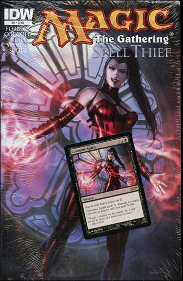 Magic The Gathering - The Spell Thief 2-A by IDW