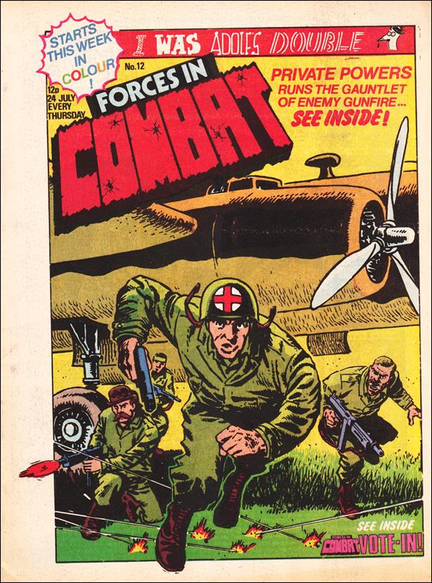 Forces in Combat (UK) 12-A by Marvel UK