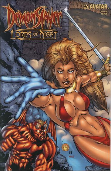 Demonslayer: Lords of Night Preview 1-A by Avatar Press