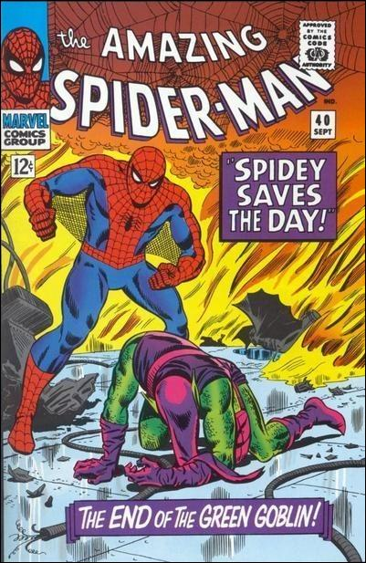Amazing Spider-Man (1963) 40-A by Marvel
