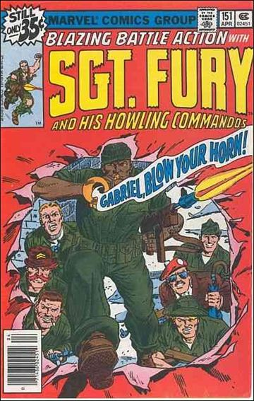 Sgt. Fury and His Howling Commandos 151-A by Marvel