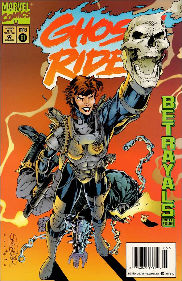 Ghost Rider (1990) 61-A by Marvel