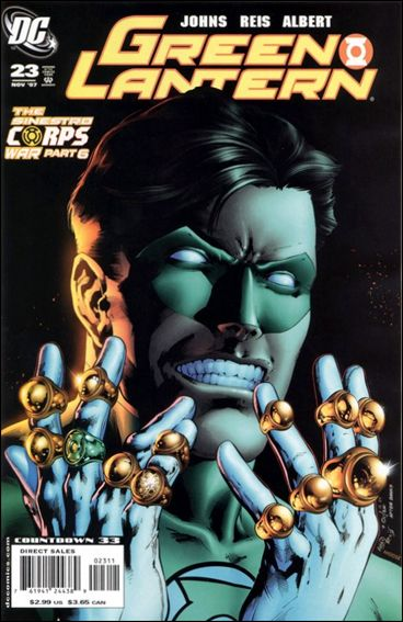 Green Lantern (2005) 23-A by DC