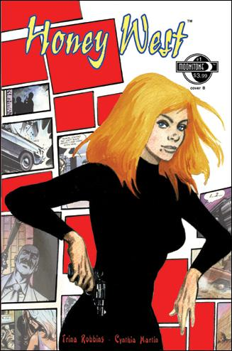 Honey West (2010) 1-B by Moonstone