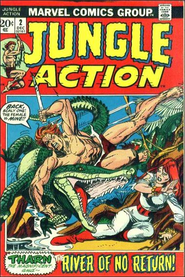 Jungle Action (1972) 2-A by Marvel
