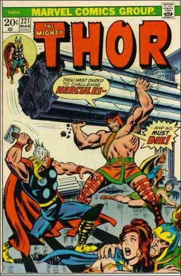 Thor (1966) 221-A by Marvel