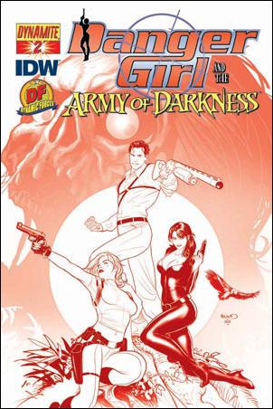 Danger Girl and the Army of Darkness 2-G by Dynamite Entertainment