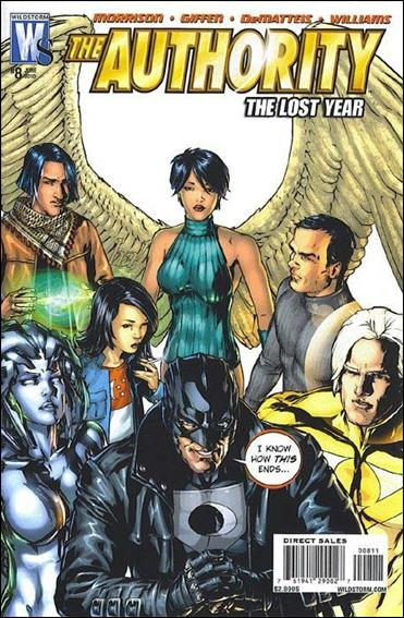 Authority: The Lost Year  8-A by WildStorm