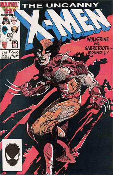 Uncanny X-Men (1981) 212-A by Marvel