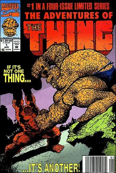Adventures of the Thing 1-A by Marvel