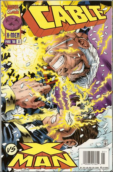 Cable (1993) 31-B by Marvel