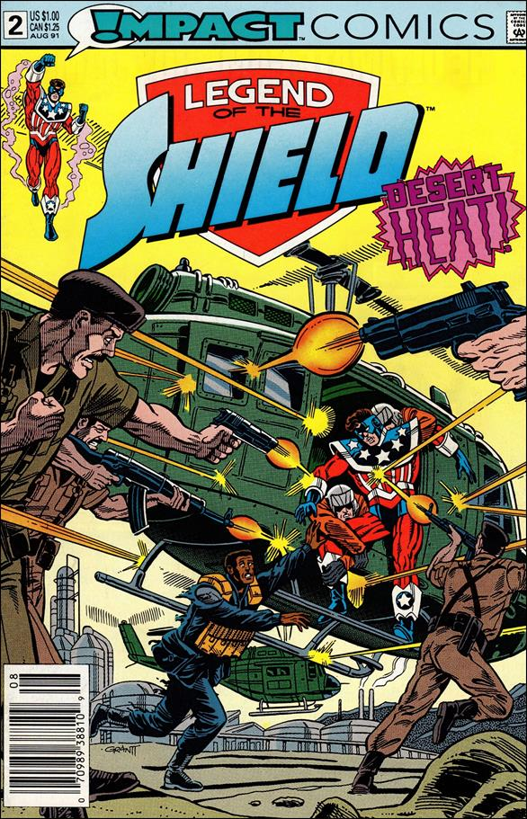 Legend of the Shield 2-A by Impact Comics
