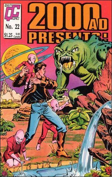 2000 A.D. Presents 22-A by Quality Comics