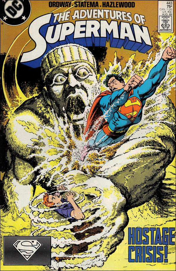 Adventures of Superman (1987) 443-A by DC