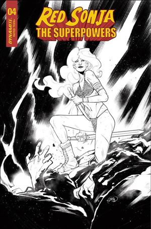 Red Sonja: The Superpowers 4-K