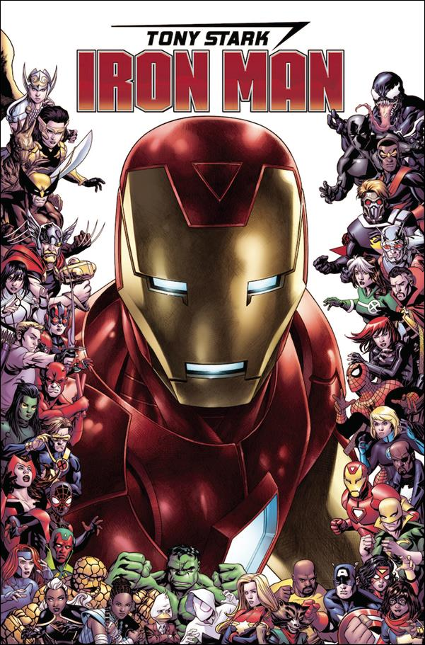 Tony Stark: Iron Man 15-C by Marvel