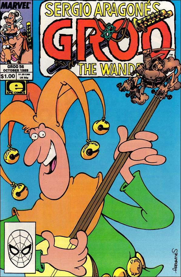 Sergio Aragones Groo the Wanderer 56-A by Epic