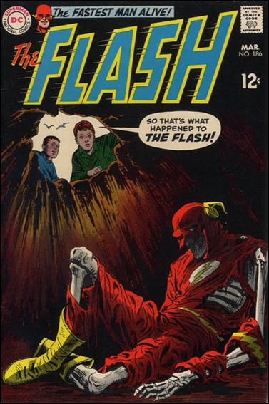 Flash (1959) 186-A by DC