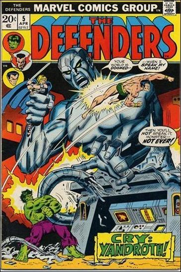 Defenders (1972) 5-A by Marvel