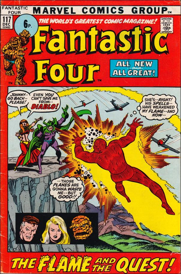 Fantastic Four (1961) 117-B by Marvel