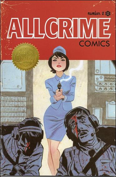 All Crime Comics 2-A by Art of Fiction
