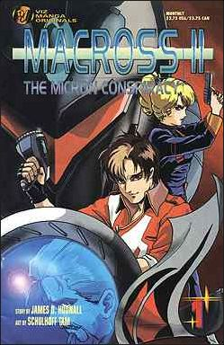 Macross II: The Micron Conspiracy 1-A by Viz